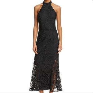 Jarlo lace halter midi dress NWT